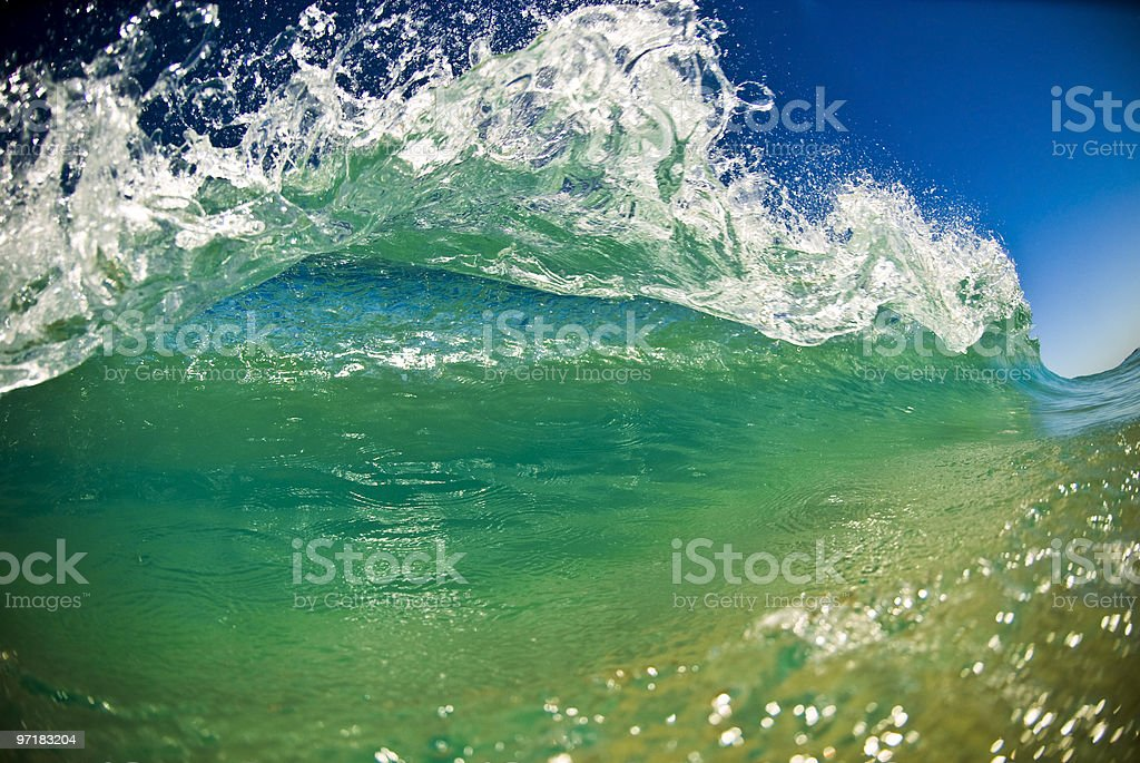 Small Surf stock photo