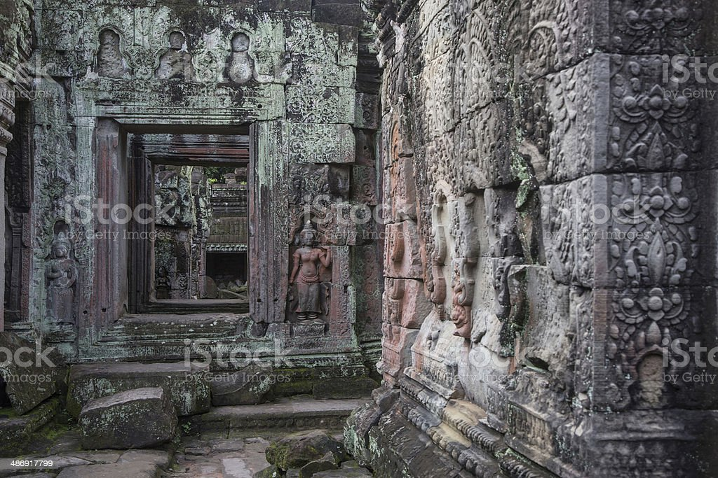 Small temple of Angkor royalty-free stock photo