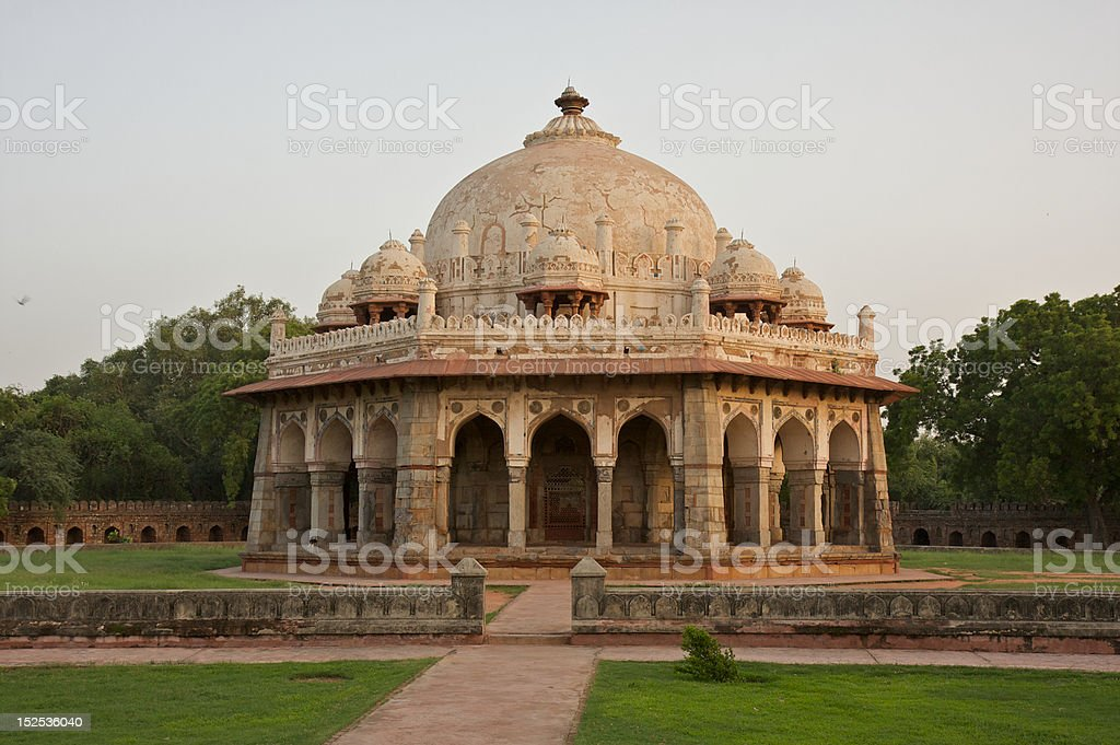 Small Temple on the grounds of Humayun's Tomb royalty-free stock photo