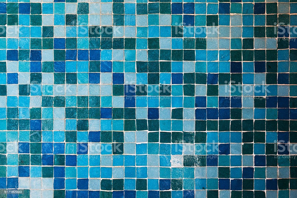 Small Tile Mosaic stock photo