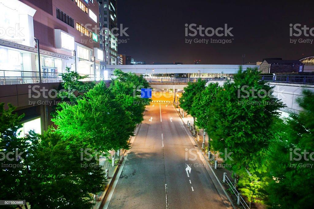Small Tokyo street stock photo