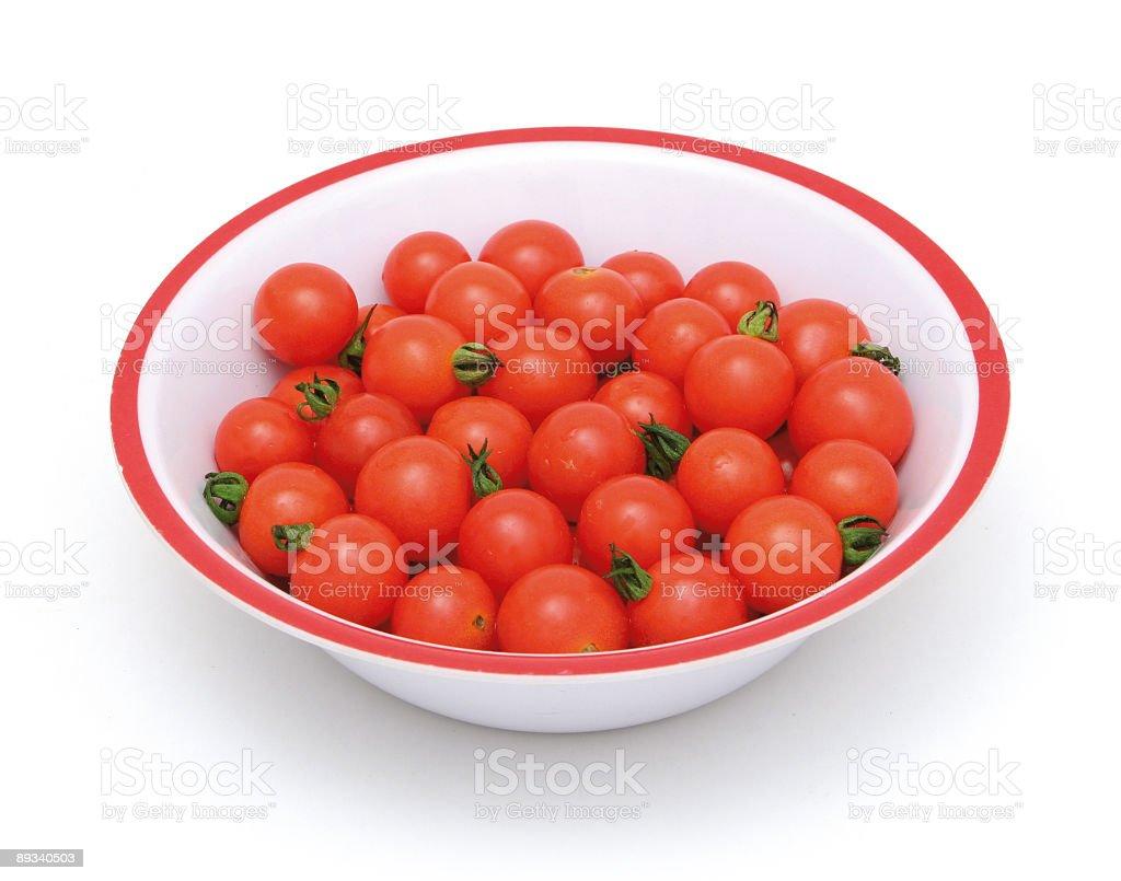 Small tomatoes royalty-free stock photo
