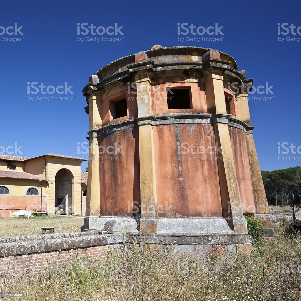 small tower stock photo