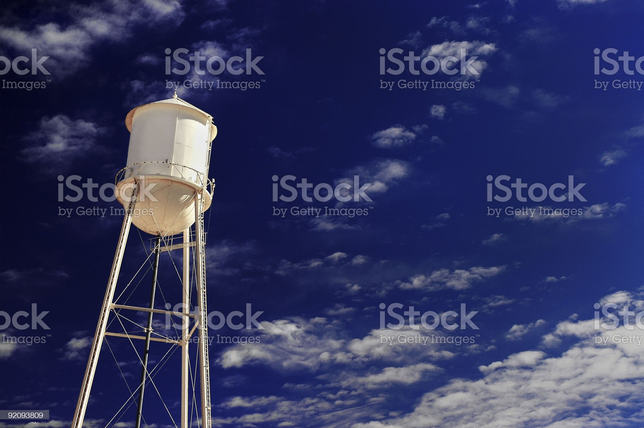 Small Town America royalty-free stock photo