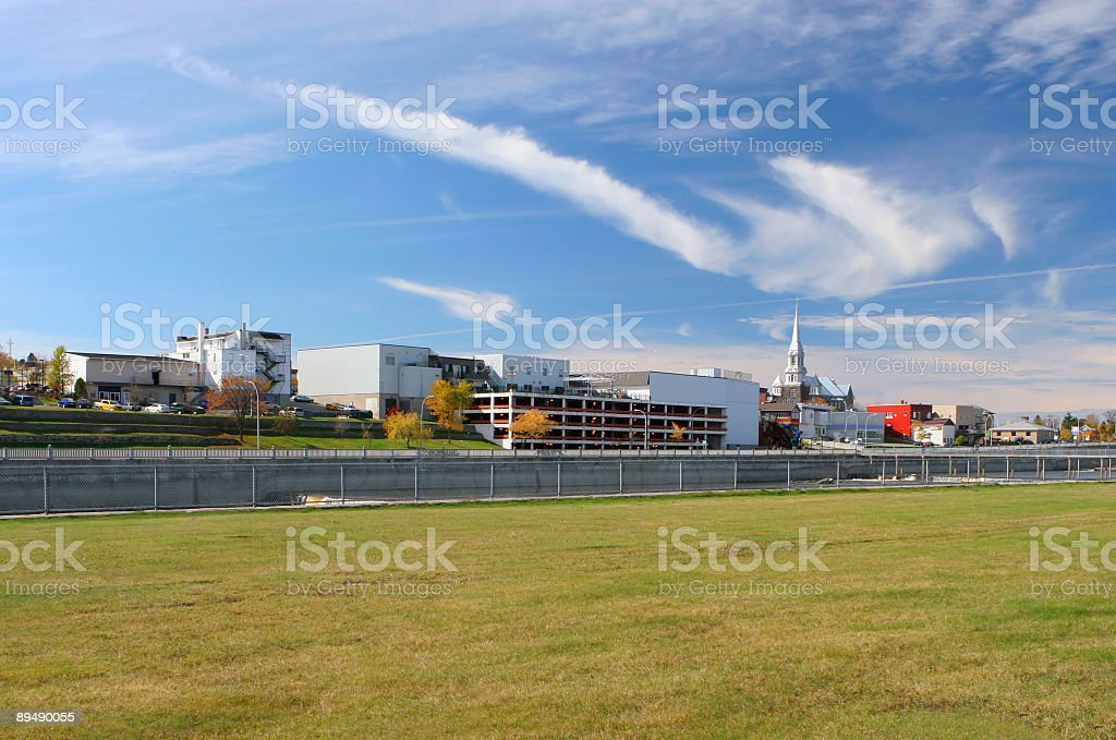 Small Town royalty-free stock photo