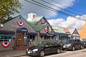 Small Town Street, Chatham, Cape Cod, Massachusetts, USA.