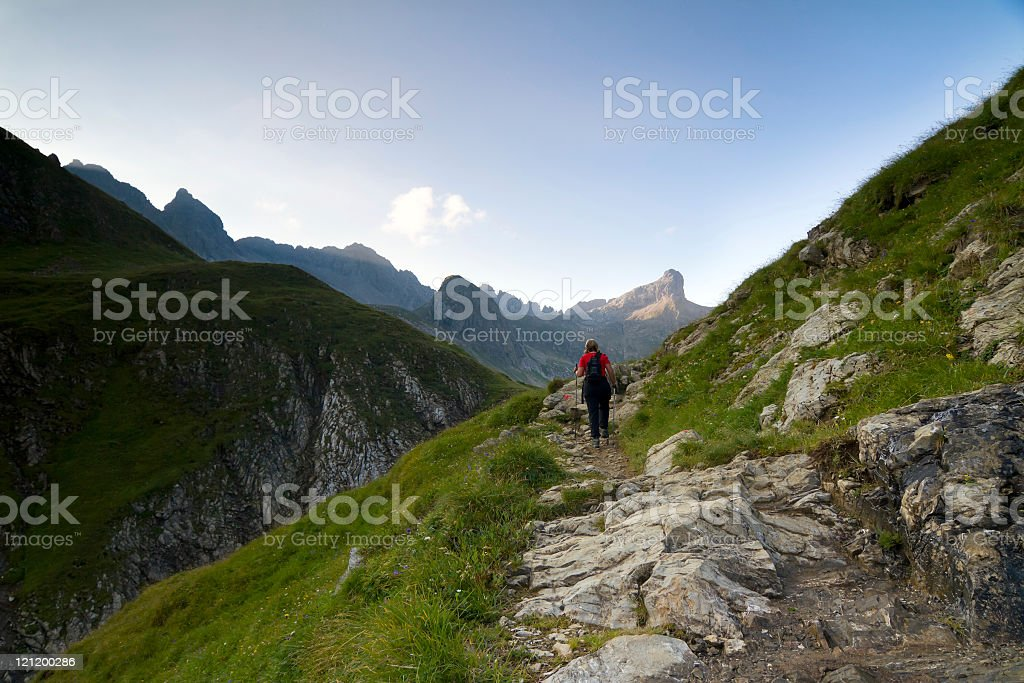 small trail royalty-free stock photo