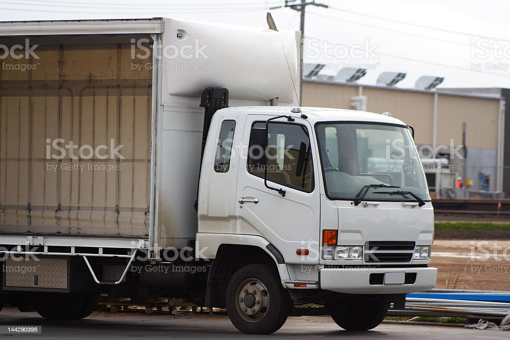 Small truck royalty-free stock photo