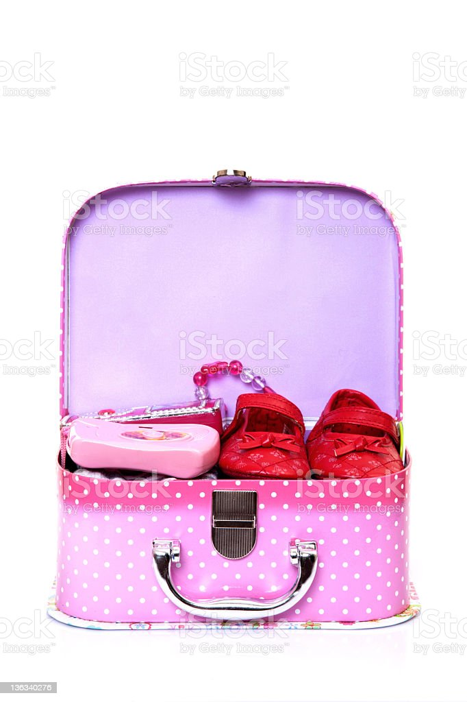 small valise royalty-free stock photo
