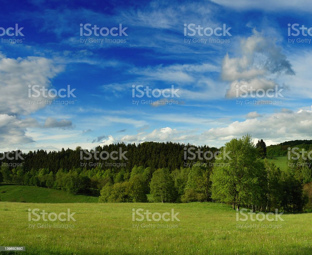 Small Valley royalty-free stock photo