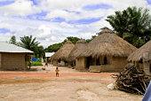 Small village in Sierra Leone