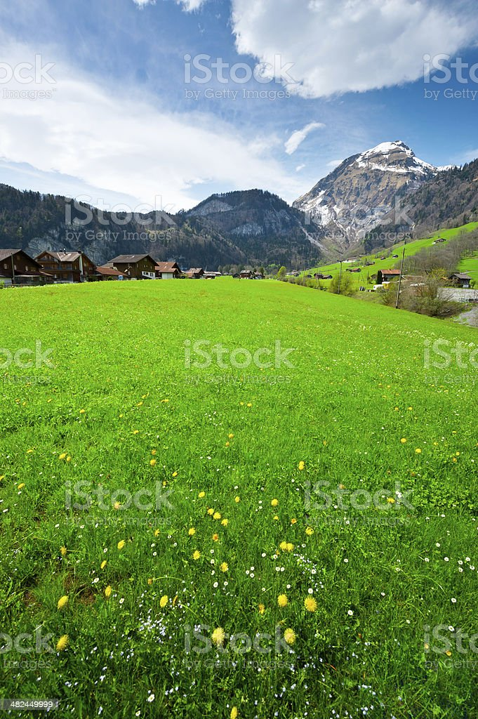 Small Village royalty-free stock photo