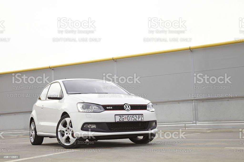 Small Volkswagen GTI stock photo