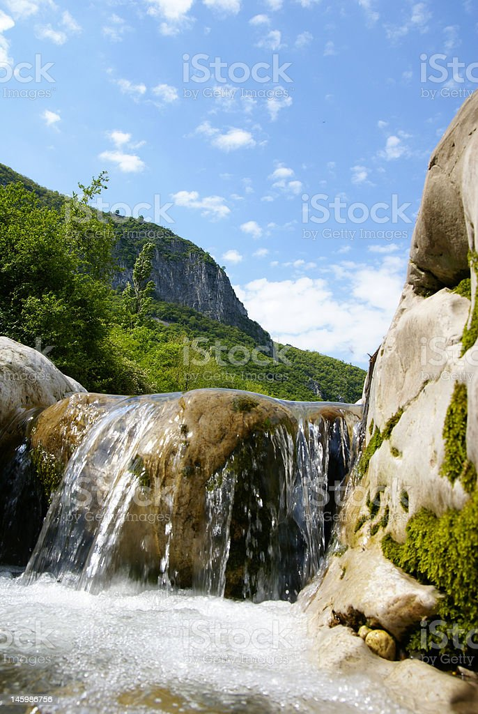 Small water recession royalty-free stock photo