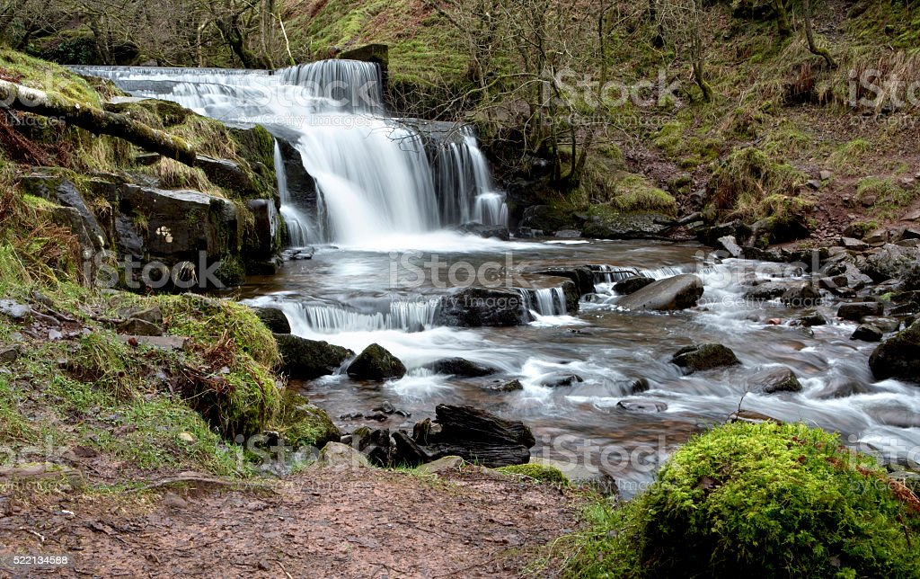 Small Waterfall. stock photo
