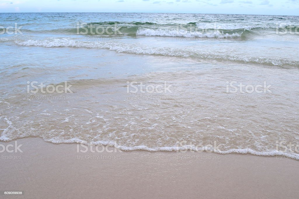 small waves in alabama stock photo