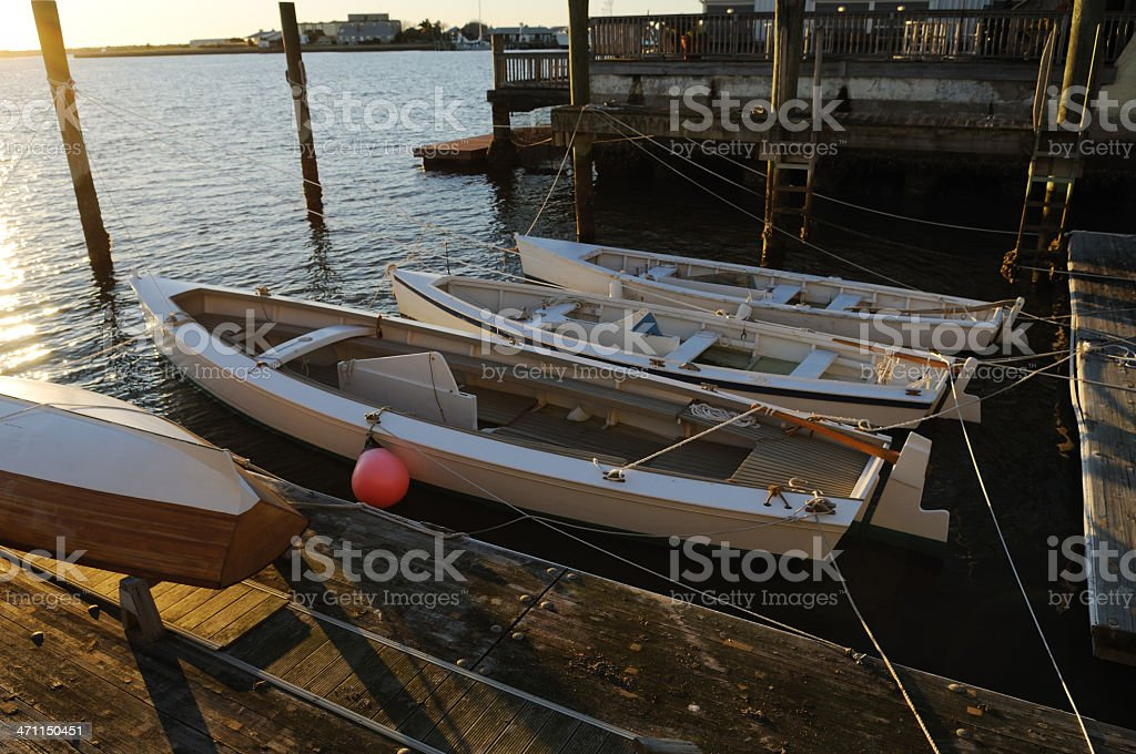Small Wooden Boats stock photo