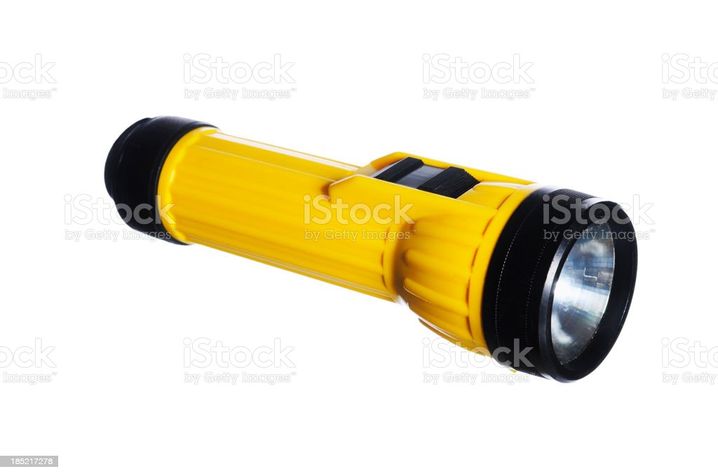 smaller  flashlight stock photo