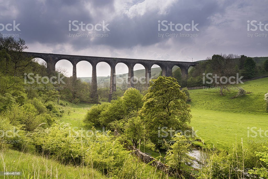 Smardale Viaduct stock photo