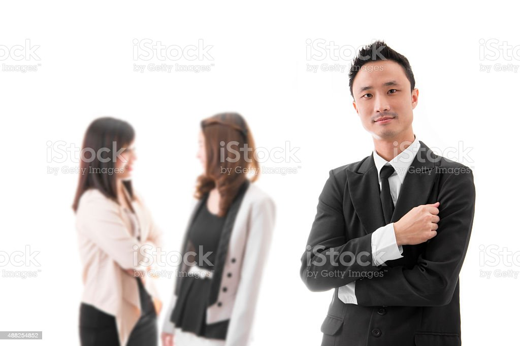 Smart Asian Businessman royalty-free stock photo