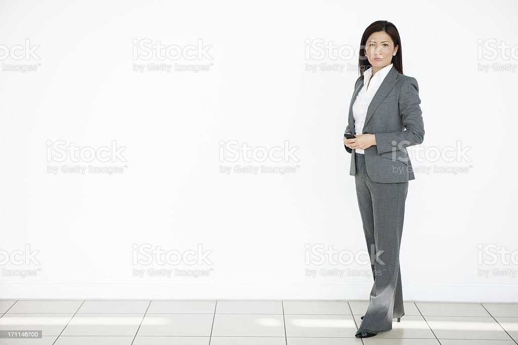 Smart Asian Businesswoman royalty-free stock photo