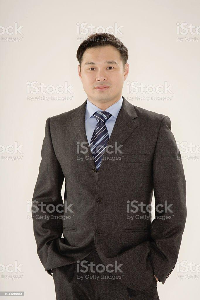 smart asian man royalty-free stock photo
