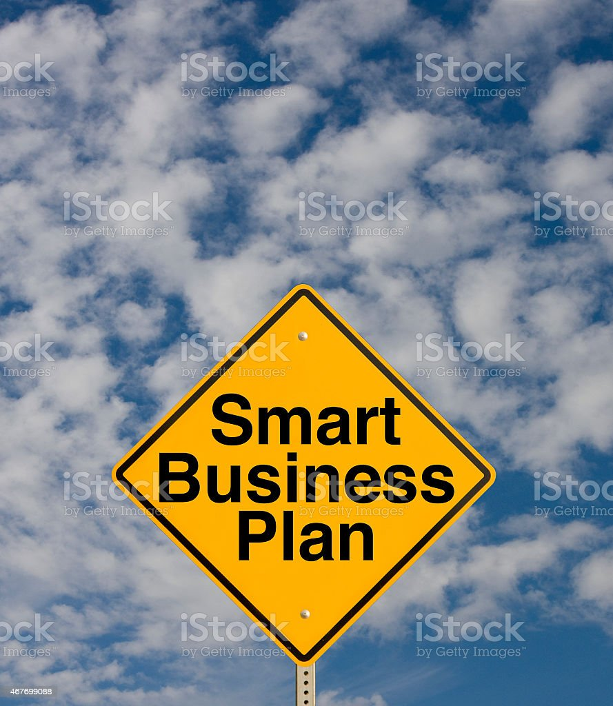 Smart Business Plan stock photo