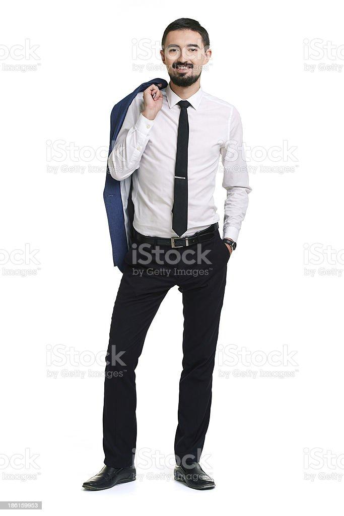 Smart businessman royalty-free stock photo