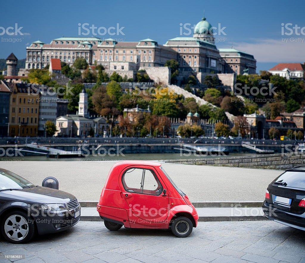 Smart Car stock photo