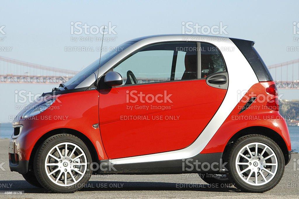 Smart Car royalty-free stock photo
