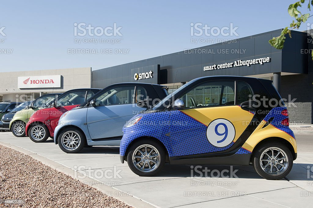 Smart Car stock photo