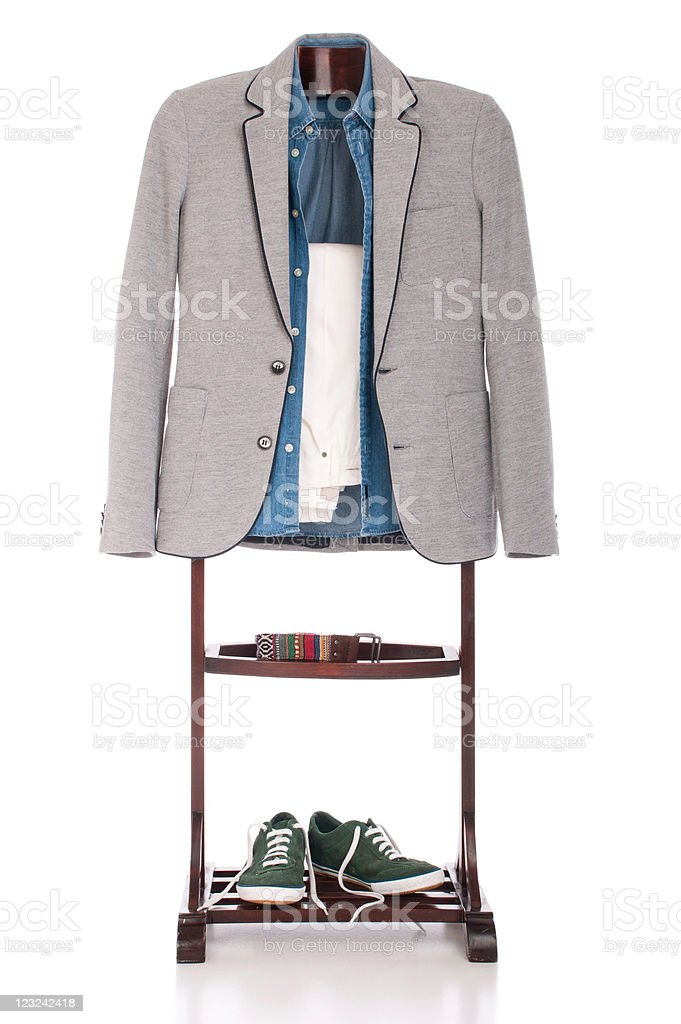 Smart casual clothing royalty-free stock photo