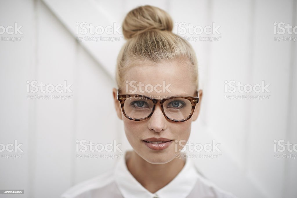Smart casual stock photo