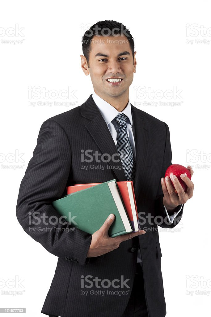 Smart Casual Teacher stock photo