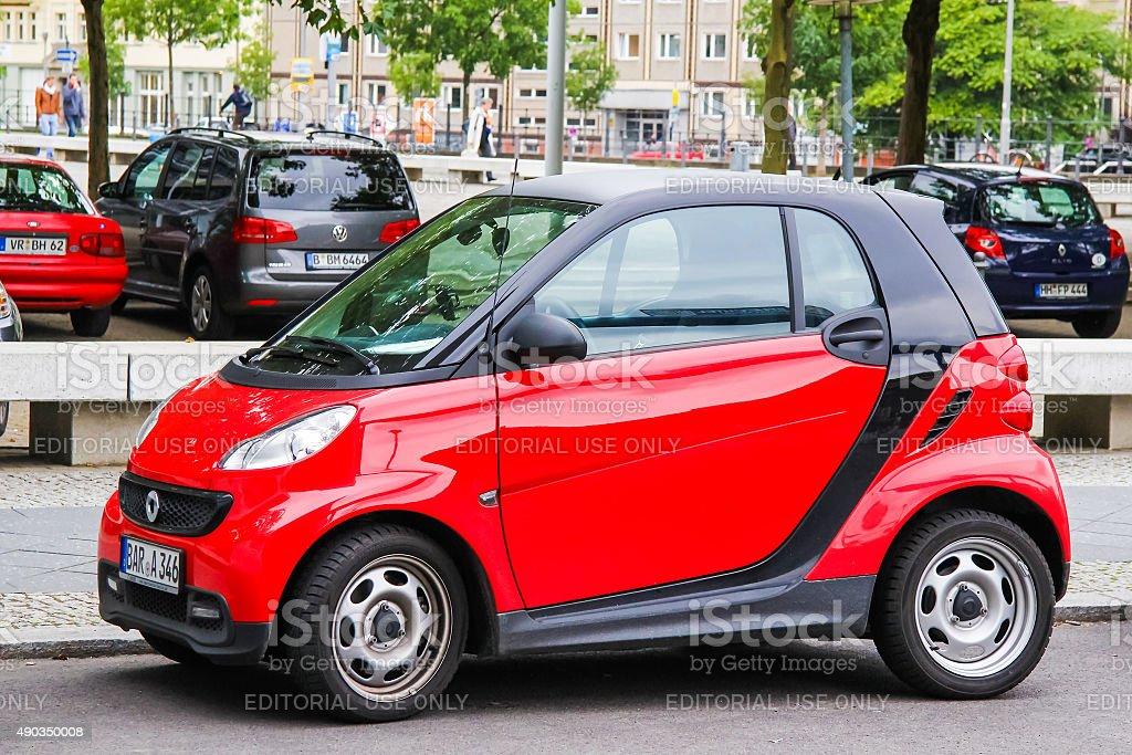 Smart City Coupe stock photo
