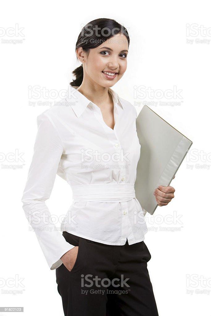 Smart female royalty-free stock photo
