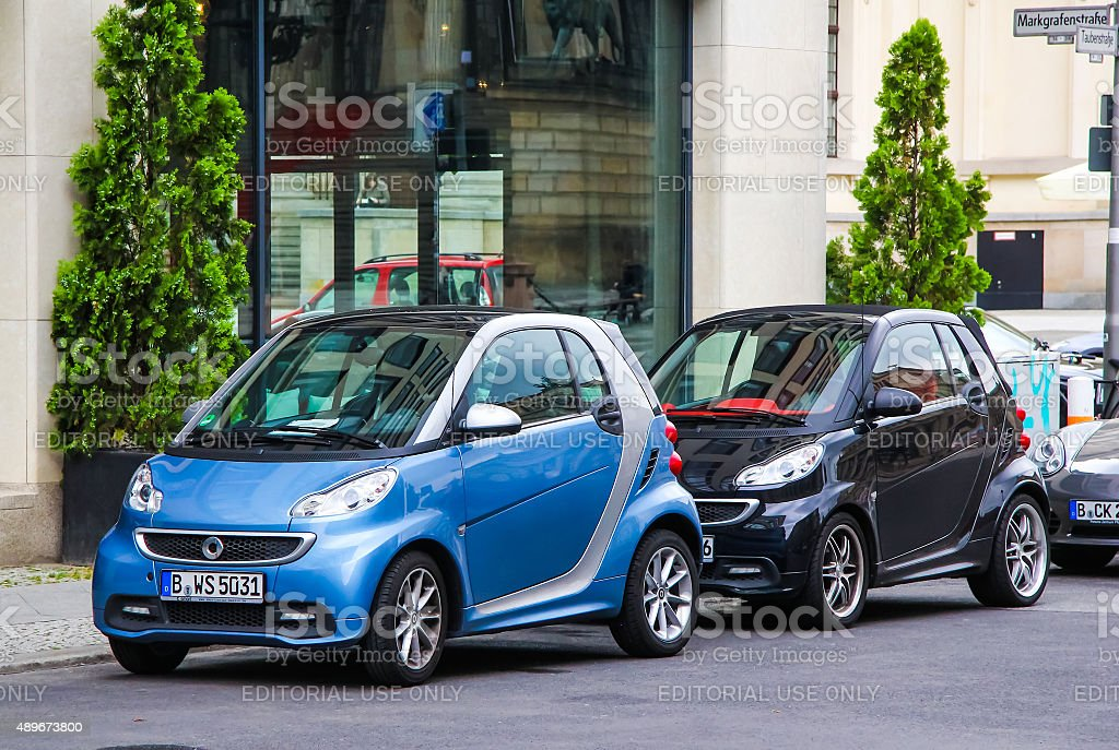 Smart Fortwo stock photo