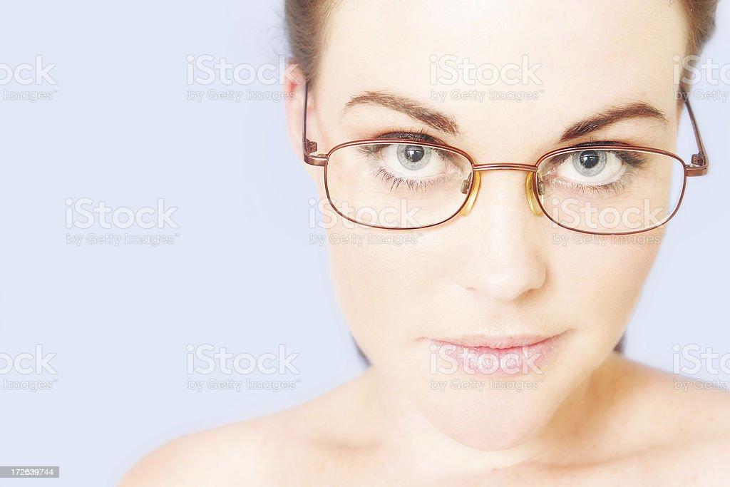 Smart Girl royalty-free stock photo