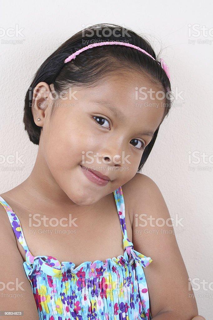 Smart Mädchen Lizenzfreies stock-foto