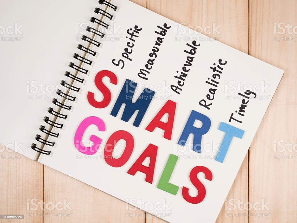 Smart Goal 22 stock photo