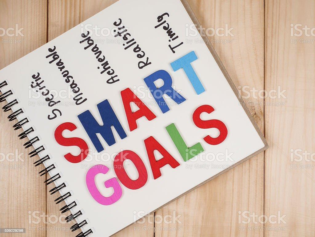 Smart Goal 32 stock photo