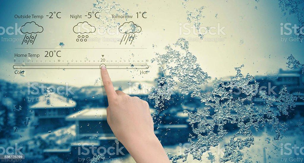 Smart Home Technology stock photo