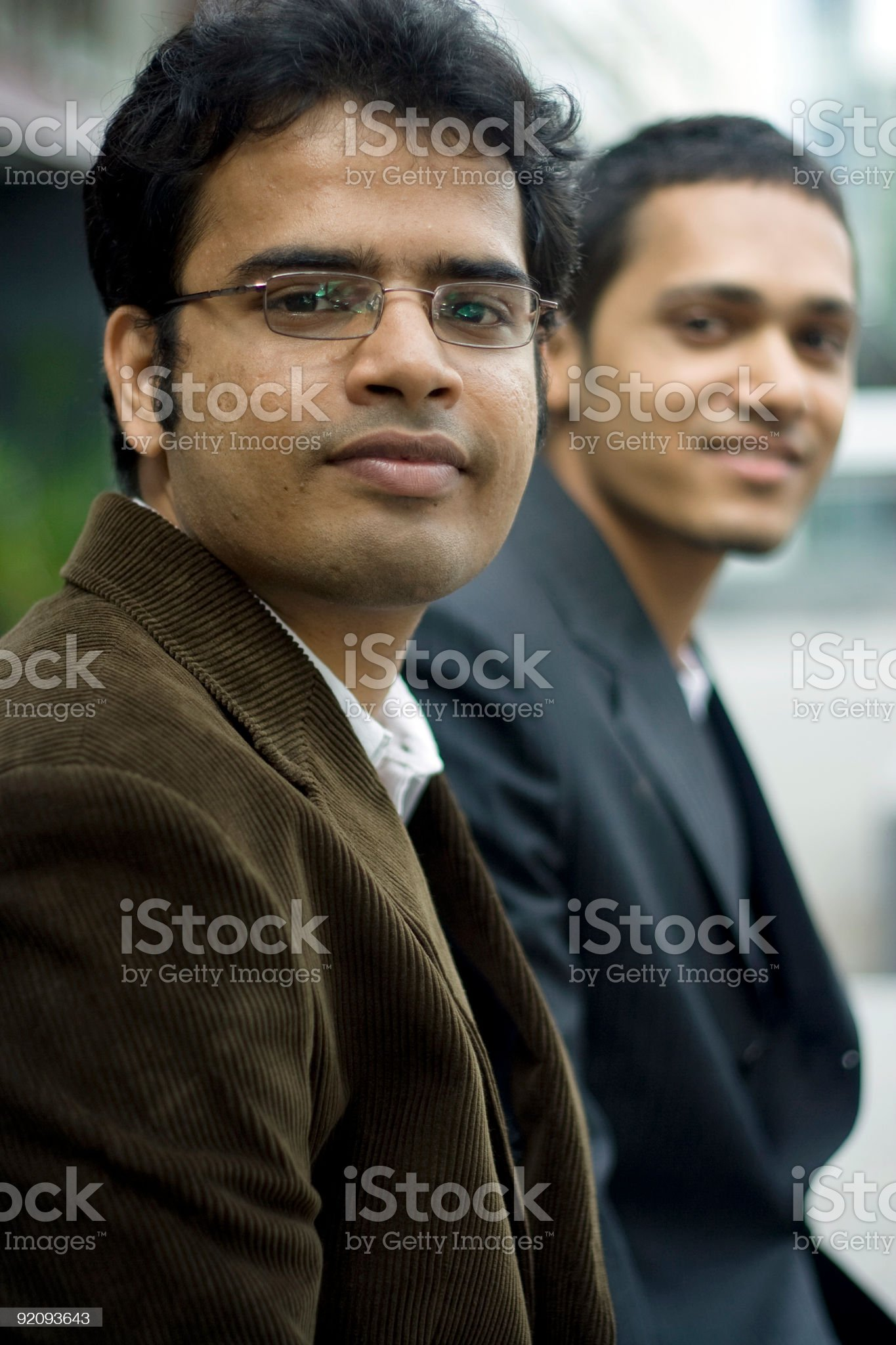 Smart Indian Business team royalty-free stock photo