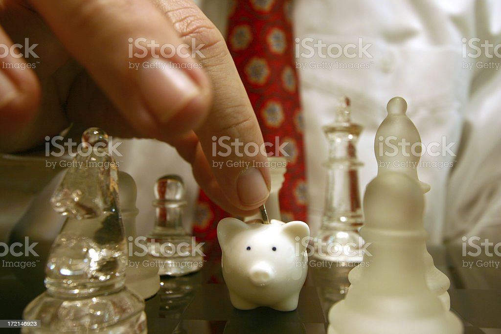 Smart investing royalty-free stock photo