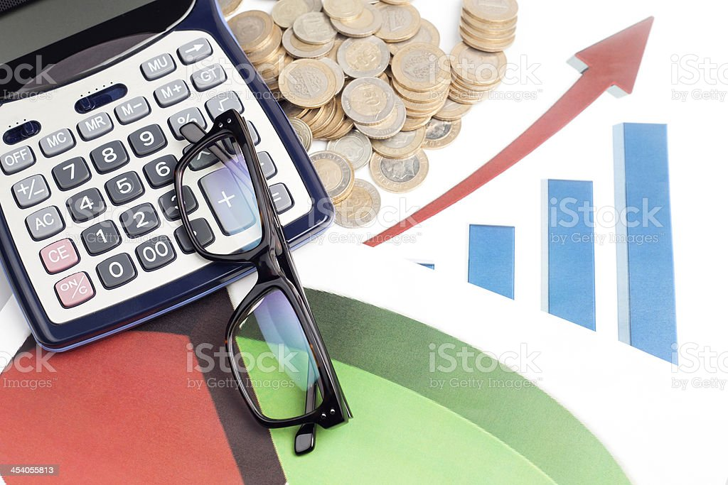 Smart Investments royalty-free stock photo