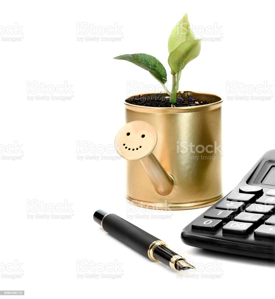 Smart Investor stock photo