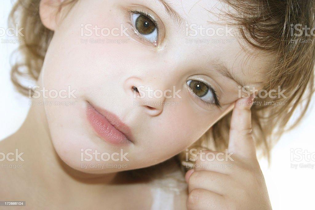 Smart kid royalty-free stock photo
