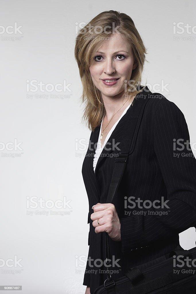 Smart lady lawyer stock photo