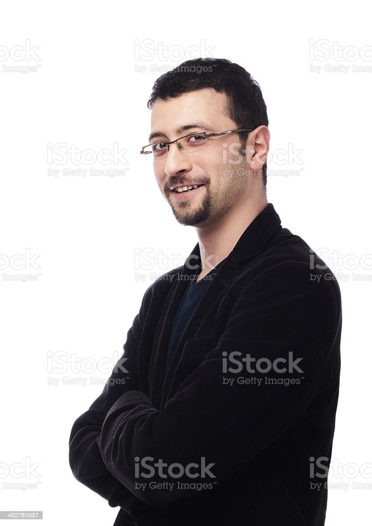 Smart looking man royalty-free stock photo