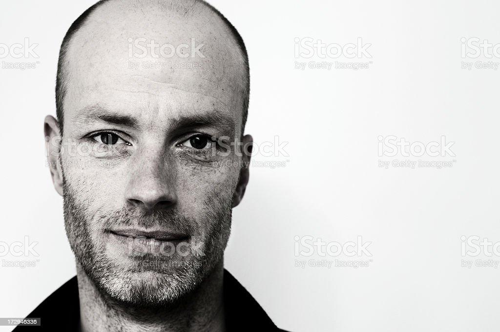smart man portrait royalty-free stock photo